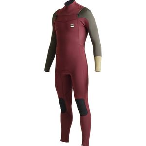 Billabong Revolution 3/2 Tri Bong Chest Zip Wetsuit - Men's
