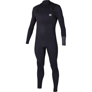 Billabong 4/3 Revolution Tri Bong Chest Zip Wetsuit - Men's