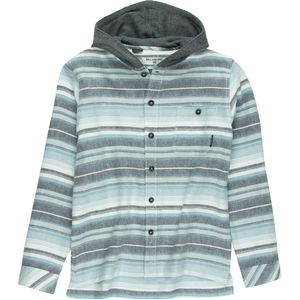 Billabong Baja Flannel Hooded Shirt - Boys'