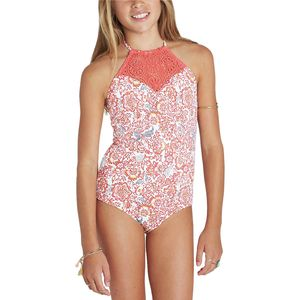 Billabong Sea Side One-Piece Swimsuit - Girls'