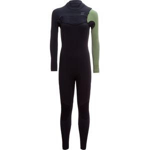 Billabong 4/3 Furnace Carbon Comp Chest Zip Full Wetsuit - Women's