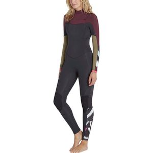 Billabong Salty Dayz 4/3 Chest-Zip Wetsuit - Women's