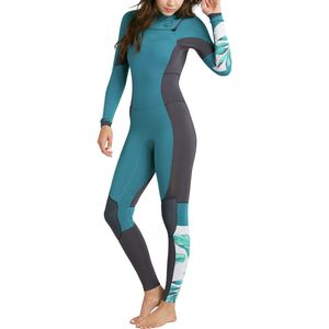 Billabong Salty 4/3 Dayz Chest-Zip Full Wetsuit - Women's