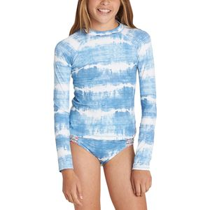 Billabong Lil Bliss Long-Sleeve Rashguard Set - Girls'