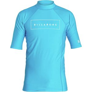 Billabong All Day United Performance Fit Short-Sleeve Rashguard - Boys'