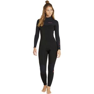 Billabong 4/3 Furnace Carbon Comp Chest-Zip Full Wetsuit - Women's