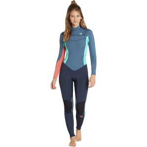Billabong 3/2mm Furnace Synergy Chest-Zip GBS Wetsuit - Women's