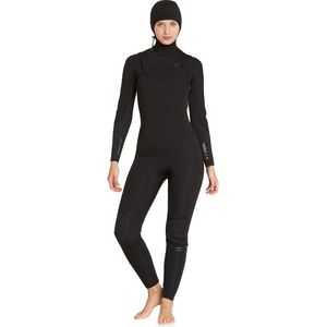 Billabong 5/4 Furnace Synergy Chest Zip Hooded Full Wetsuit - Women's