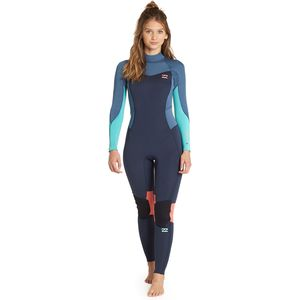 Billabong 4 3 Furnace Synergy Back-Zip Full Wetsuit - Women s 0d0cb6982