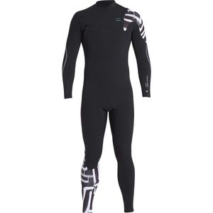 Billabong 4/3 Furnace Carbon Comp Chest Zip Full Wetsuit - Men's