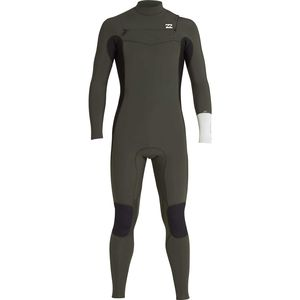 Billabong 3/2 Furnace Revolution Chest Zip Full Wetsuit - Men's