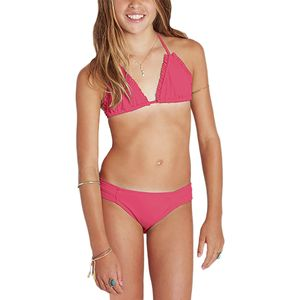 Billabong Sol Searcher Triangle Bikini Set - Girls'