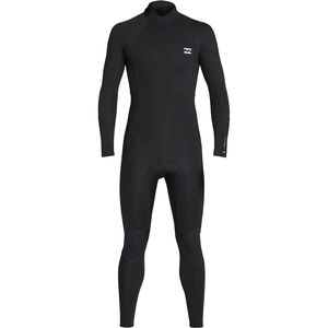 Billabong 3/2mm Absolute Back Zip Flatlock Full Wetsuit - Men's