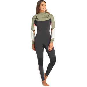 Billabong 3/2 Salty Dayz Chest-Zip Full Wetsuit - Women's