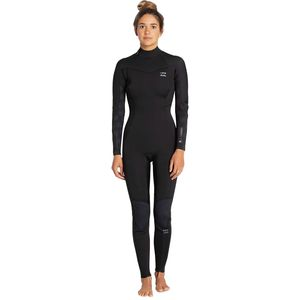 Billabong 3/2mm Synergy Back-Zip Flatlock Full Wetsuit - Women's