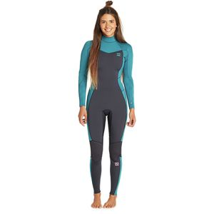 Billabong 3/2mm Furnace Synergy Back Zip GBS Full Wetsuit - Women's