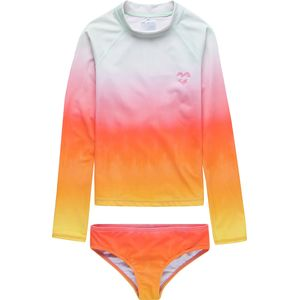 Billabong Hazy Daze Long-Sleeve Rashguard Set - Girls'