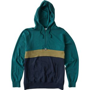 Billabong Wave Washed 1/2-Zip Pullover Hoodie - Men's