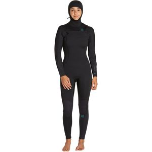 Billabong 5/4 Furnace Synergy Chest-Zip Hooded Full Wetsuit - Women's