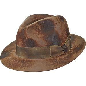 Brooklyn Hats Enfield Burned Fedora - Women's