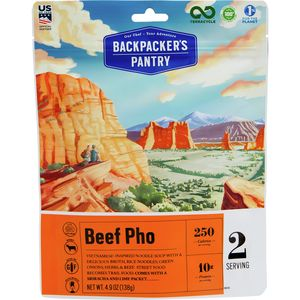 Backpacker's Pantry Beef Pho