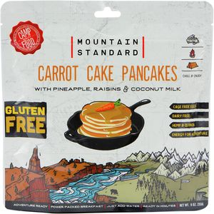 Backpacker's Pantry Carrot Cake Pancakes (GF/DF)