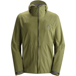 Black Diamond Liquid Point Shell Jacket - Men's