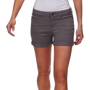 Black Diamond Stretch Font Short - Women's