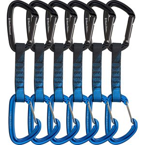 Black Diamond PosiWire Quickpack  - 6-Pack