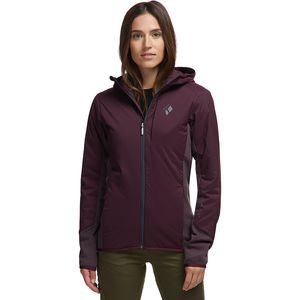 Black Diamond First Light Hybrid Hooded Jacket - Women's