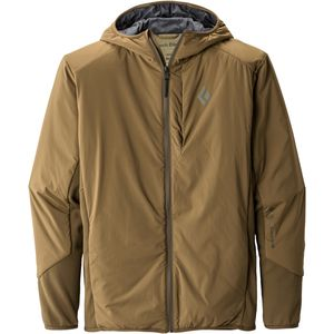 Black Diamond First Light Hybrid Hooded Jacket - Men's