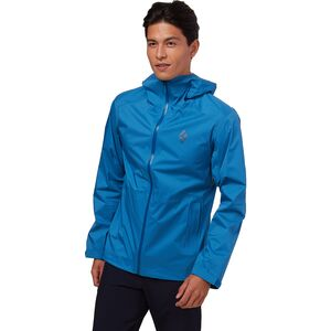 Black Diamond Stormline Stretch Rain Shell Jacket - Men's