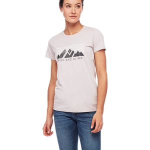 Black Diamond Rise And Climb Short-Sleeve T-Shirt - Women's