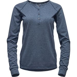 Black Diamond Attitude Long-Sleeve Henley - Women's