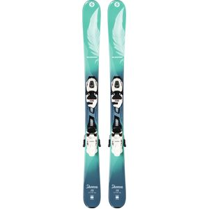 Blizzard Sheeva Twin Jr Ski with FDT Jr 7 WB Binding - Kids'