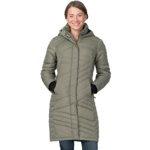 Basin and Range Evergreen Quilted Down Coat - Women's - Up to 70 ...