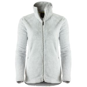 White Fleece Jacket - Coat Nj