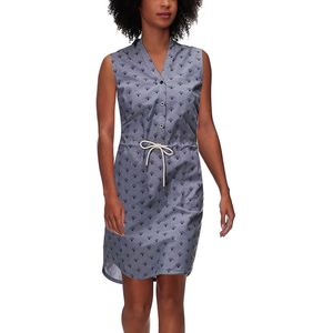 Basin and Range Dreamscape Sleeveless Chambray Dress - Women's