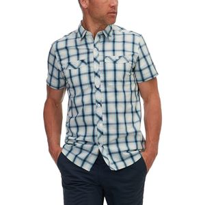 Basin and Range Kings Peak Plaid Short-Sleeve Shirt - Men's