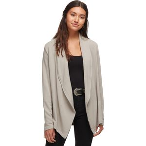 Basin and Range Plush Wrap Cardigan - Women's