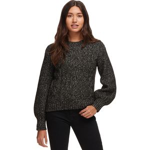 Basin and Range Cable Knit Bell Sleeve Sweater - Women's