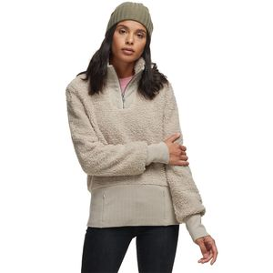 Basin and Range Cozy Teddy 1/4-Zip Pullover - Women's