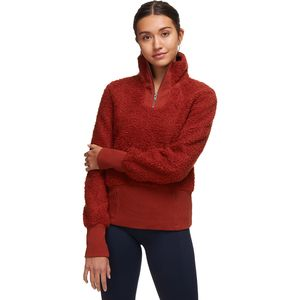 Basin and Range Cozy Teddy Sherpa 1/4-Zip Pullover - Women's