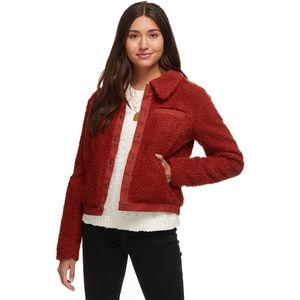 Basin and Range Cozy Teddy Jacket - Women's
