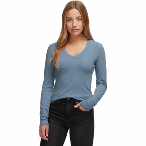 Basin and Range Rib Long-Sleeve T-Shirt - Women's