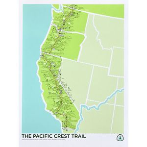 Brainstorm The Pacific Crest Trail Screenprint