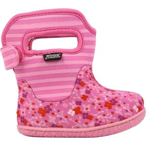 Bogs Classic Flower Stripe Boot - Toddler Girls'