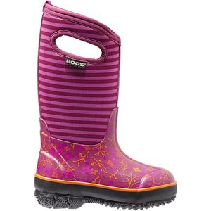 Bogs Classic Flower Stripes Rain Boot - Little Girls'