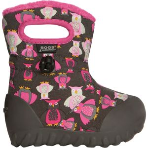 Bogs B-Moc Puff Owl Boot - Toddler Girls'