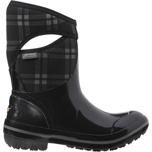 Bogs Plimsoll Plaid Mid Boot - Women's